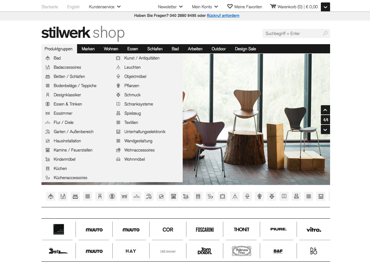 jetzt online designerm bel im stilwerk shop pressemitteilung webservice. Black Bedroom Furniture Sets. Home Design Ideas